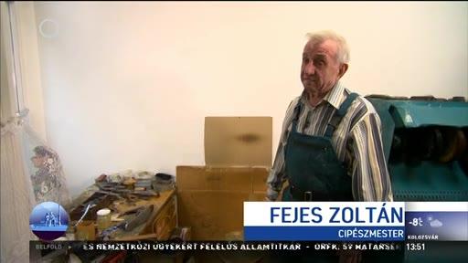 Fejes Zoltán, cipészmester
