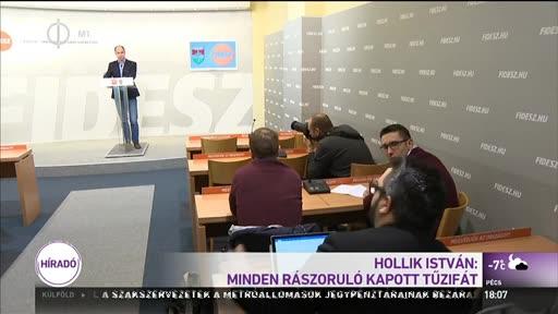 Hollik István: Minden rászoruló kapott tűzifát
