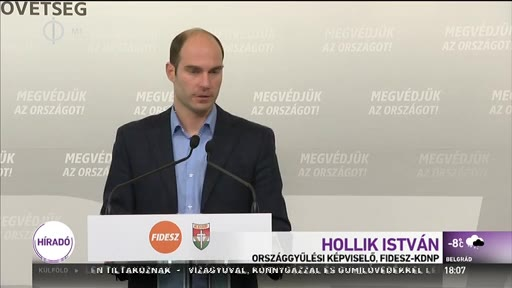 Hollik István (Fidesz-KDNP), országgyűlési képviselő