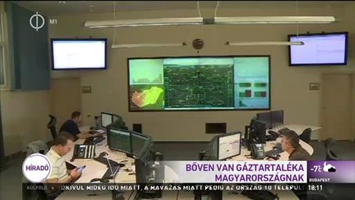 Bőven van gáztartaléka Magyarországnak