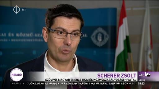 Scherer Zsolt, szóvivő, Magyar Energetikai és Közmű-szabályozási Hivatal