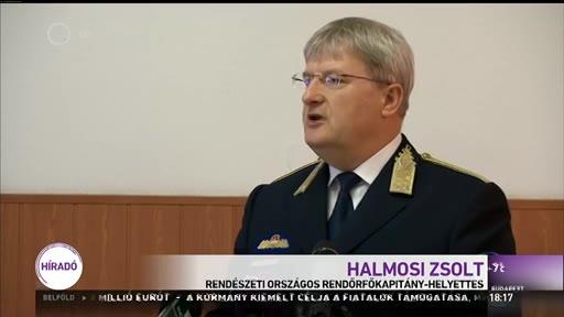 Halmosi Zsolt, rendészeti országos rendőrfőkapitány-helyettes