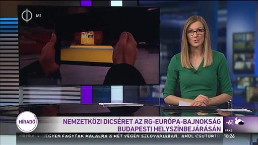 Sport: Nemzetközi dicséret a Ritmikus Gimnasztika Európa-bajnokság budapesti helyszínbejárásán
