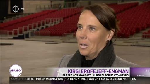 Kirsi Erofejeff-Engman, általános igazgató, Európai Tornaszövetség