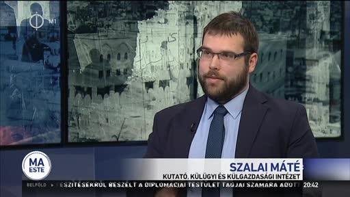 Szalai Máté, kutató, Külügyi és Külgazdasági Intézet