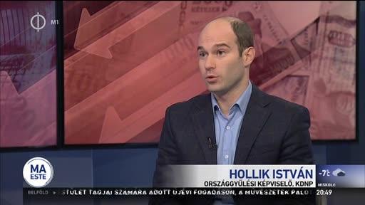 Hollik István (KDNP), országgyűlési képviselő