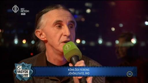Kömlődi Ferenc, jövőkutató, író
