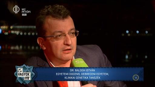 dr. Balogh István, egyetemi docens, Debreceni Egyetem Klinikai Genetika Tanszék