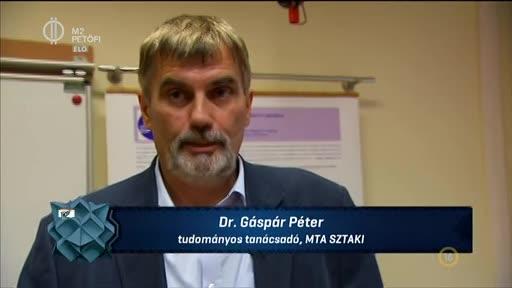 dr. Gáspár Péter, tudományos tanácsadó, MTA SZTAKI