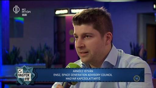 Arnócz István, magyar kapcsolattartó, ENSZ Space Generation Advisory Council