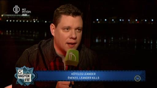 Köteles Leander, énekes, Leander Kills
