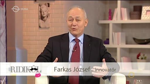 Farkas József, innovatőr