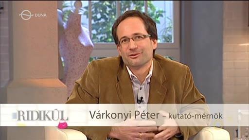 Várkonyi Péter, kutató-mérnök