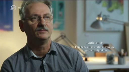 Auth Attila, Ferenczy-díjas grafikusművész, egyetemi adjunktus