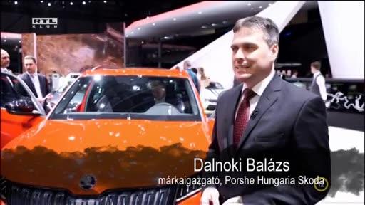 Dalnoki Balázs, márkaigazgató, Porsche Hungaria Skoda