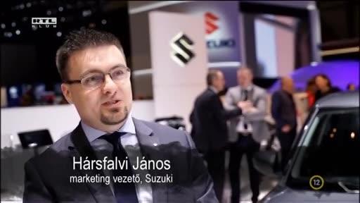 Hársfalvi János, marketingvezető, Suzuki