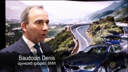Baudouin Denis, ügyvezető igazgató, BMW