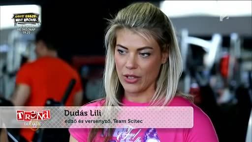 Dudás Lili, edző, versenyző, Team Scitec