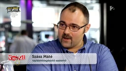 Szász Máté, táplálékkiegészítő szakember