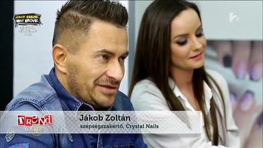 Jákob Zoltán, szépségszakértő, Crystal Nails