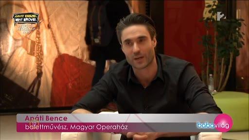 Apáti Bence, balettművész, Magyar Operaház