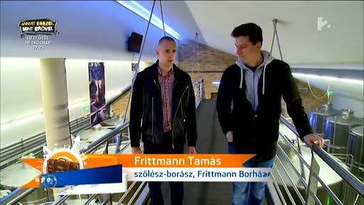 Frittmann Tamás, szőlész-borász, Frittmann Borház [balra]