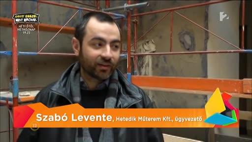 Szabó Levente, ügyvezető, Hetedik Műterem Kft.