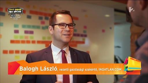 Balogh László, vezető gazdasági szakértő, ingatlan.com