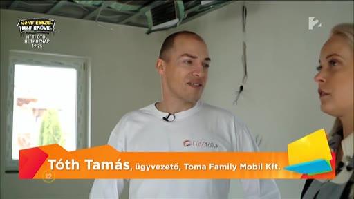 Tóth Tamás, ügyvezető, Toma Family Mobil Kft.