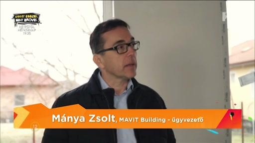 Mánya Zsolt, ügyvezető, MAVIT Building