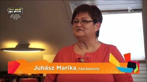 Juhász Marika, háziasszony