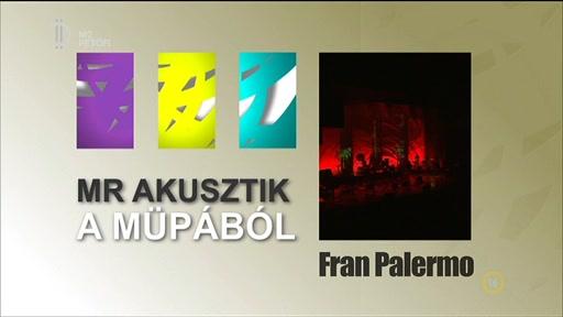 MR akusztik a Müpából: Fran Palermo